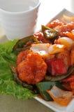 Sweet sour Shrimp Royalty Free Stock Photos