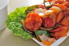 Sweet sour Shrimp Royalty Free Stock Image