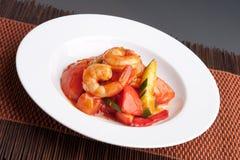 Sweet Sour Shrimp Stock Image