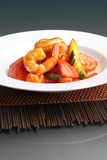 Sweet Sour Shrimp Royalty Free Stock Photos