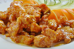Sweet and Sour Spareribs Stock Photos