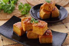 Sweet and sour  tofu. Stock Image