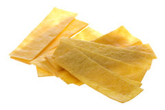 Sweet Soybean Strips. Isolated image of sweet soybean strips Stock Image