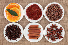 Sweet Spice Ingredients Stock Photography