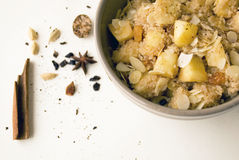 Sweet and spicy couscous Stock Images