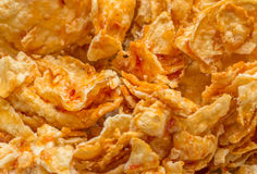 Sweet and spicy indonesian chips emping blado Stock Images