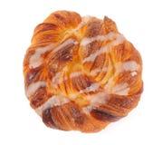 Sweet spiral bun Stock Image