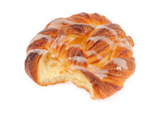 Sweet spiral bun Royalty Free Stock Images