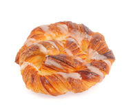 Sweet spiral bun Stock Photography