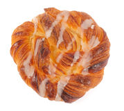 Sweet spiral bun Stock Photos
