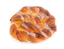 Sweet spiral bun Stock Photo