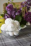 Sweet spring meringues Stock Image