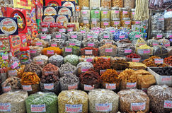 Sweet Stall at Ben Tanh Market, Ho Chi Minh City. Stock Photography