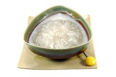 Sweet Sticky Rice with Longan Stock Image