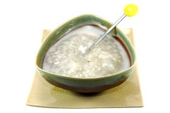 Sweet Sticky Rice with Longan Stock Images