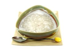 Sweet Sticky Rice with Longan Royalty Free Stock Image