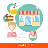 Sweet Store Royalty Free Stock Image