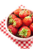 Sweet strawberries Royalty Free Stock Photo