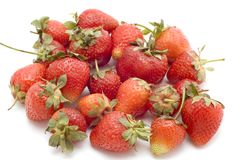 Sweet strawberries stock images