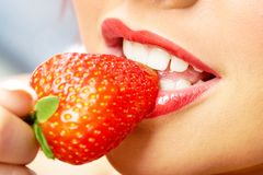 Sweet strawberry Stock Photo