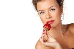 Sweet strawberry Stock Photography