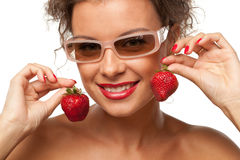 Sweet strawberry Royalty Free Stock Photos