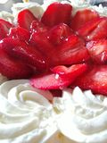 Sweet strawberry royalty free stock images