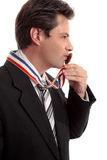 Sweet success business victory Stock Image
