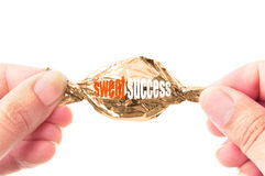 Sweet success Royalty Free Stock Image
