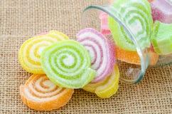 Sweet sugar candies. Royalty Free Stock Image