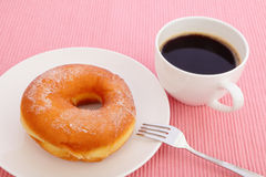 Sweet sugar donut Royalty Free Stock Photo