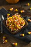 Sweet and Sugary Candy Corn Treats Stock Images