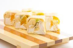 Sweet sushi roll Stock Photos