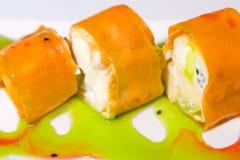 Sweet sushi rolls Stock Image