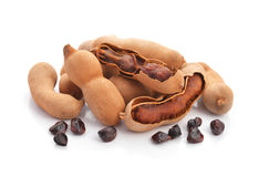 Sweet tamarind isolated Royalty Free Stock Photography