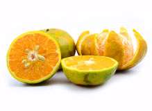 Sweet tangerine Stock Photography