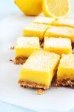 Lemon bars Stock Image