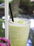A sweet tangy juice drink made from bilimbi fruit/bilimbi shake Stock Photos