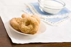 Sweet taralli Stock Photos