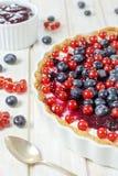 Sweet tart cake Stock Image
