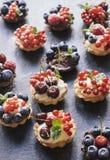 Sweet tarts cake Stock Image