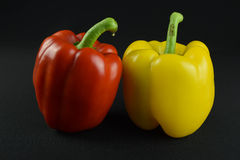 Sweet taste of an pepper. This  photograph was taken at125th at f11 on black back ground Royalty Free Stock Images