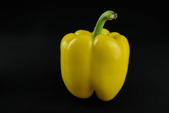 Sweet taste of an pepper. This  photograph was taken at125th at f11 on black back ground Royalty Free Stock Photography