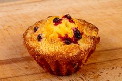 Sweet tasty muffin royalty free stock images