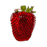 Sweet Tasty Strawberry. Vector Illustration. EPS10 Royalty Free Stock Photo