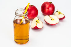 Sweet Tasty Vitamin Apple Juice Stock Photography
