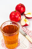 Sweet Tasty Vitamin Apple Juice Royalty Free Stock Photography