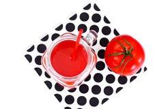 Sweet Tasty Vitamin Tomato Smoothies Juice Royalty Free Stock Photos