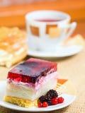 Sweet and tea Stock Photos