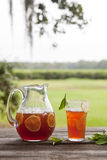 Sweet Tea at the Park Royalty Free Stock Images